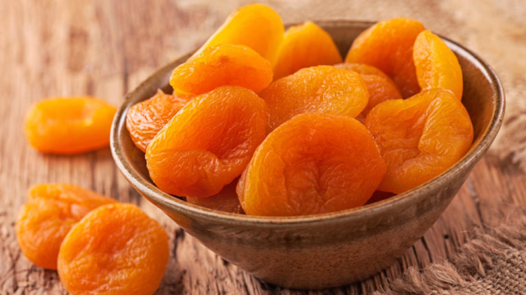 dried apricots gassy food