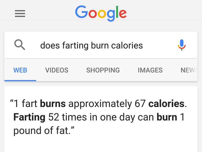fart burn calories