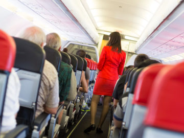fart on plane